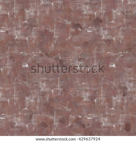 Vintage background. Old paint smudge. Cracked plaster. Coffee, brown color. The texture of tempera. Smeared paint, plaster. Grunge background. Grunge wall - stock photo