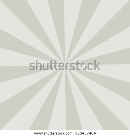 Vintage background with Sun rays. Old paper with stains - stock photo