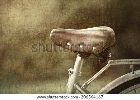 Vintage bicycles picture style