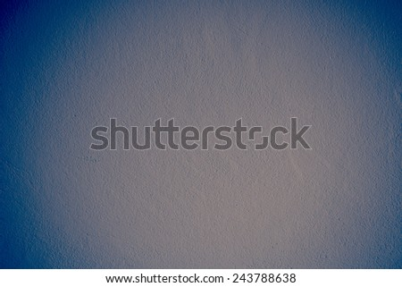 Vintage Blue concrete cement wall Background - stock photo