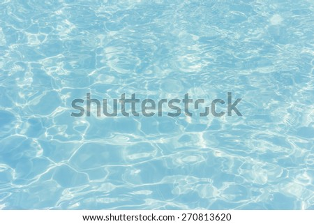 Vintage Blue water wave smooth texture background - stock photo