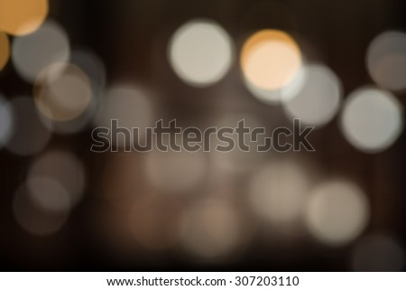 Vintage bokeh light background - stock photo
