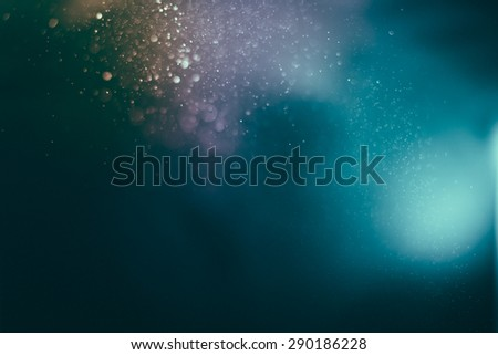 Vintage bokeh of nature background. image is blurred and filtered.