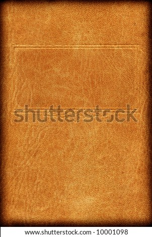 Vintage book cover with frame - stock photo