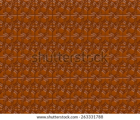 Vintage brown chocolate surface. Background or texture - stock photo