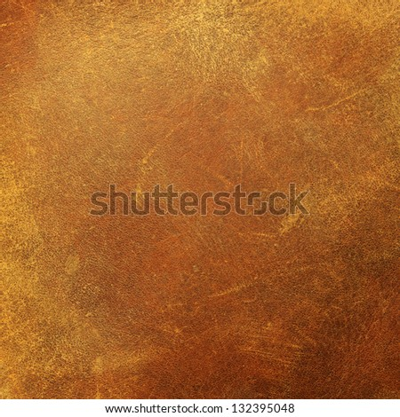 Vintage brown leather pattern - stock photo