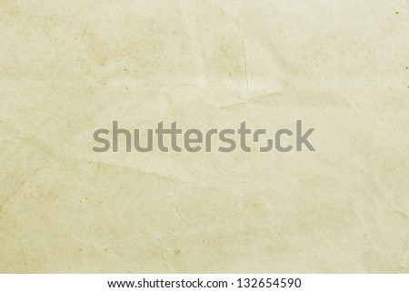 Vintage brown paper background - stock photo
