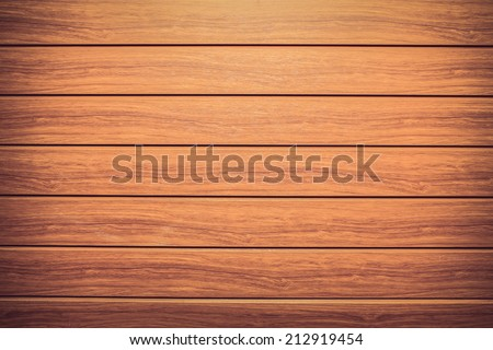 vintage brown wood plank texture background - stock photo