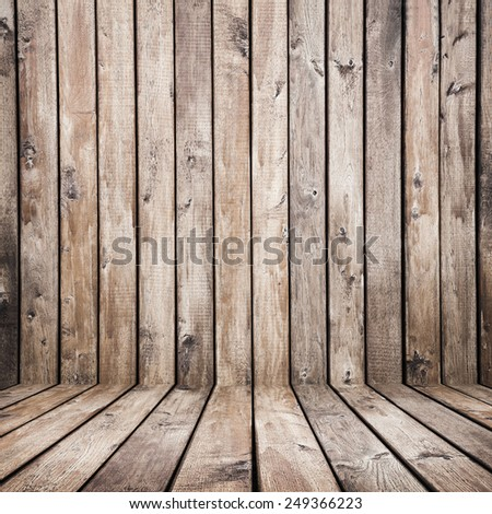 vintage brown wooden planks interior background
