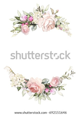 Round Flower Frame Mirror  Ginnys