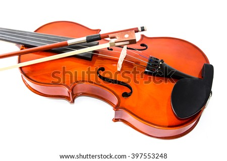 Vintage cello isolated on whitebackground
