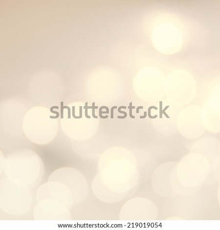 Vintage Christmas background with golden bokeh lights.  Defocused Bokeh twinkling Lights Festive holiday party  background.  - stock photo