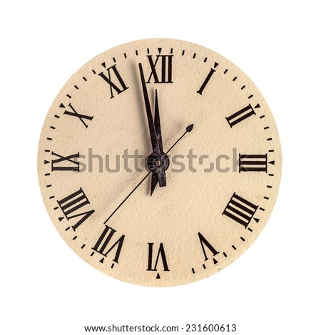 Vintage Clock Face Stock Photos, Royalty-Free Images & Vectors ...