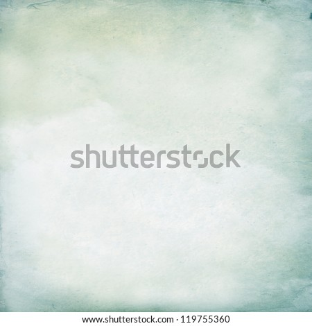 Vintage cloudy background, Watercolor background - stock photo