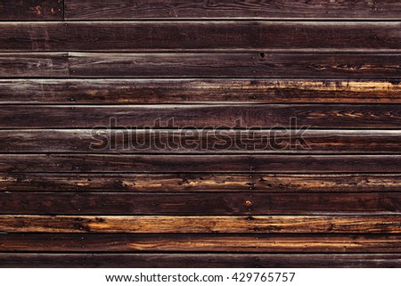 Vintage colorful wood background. Old brown board in warm colors. Texture. Wooden background.