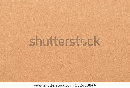Vintage cork board with room for note papers - Isolated