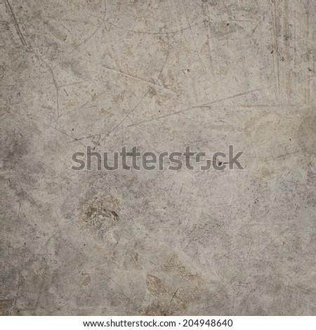 Vintage crack concrete floor texture - stock photo