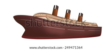 Cruise Ship Cartoon Stock Images RoyaltyFree Images Vectors - Can you take a steamer on a cruise ship