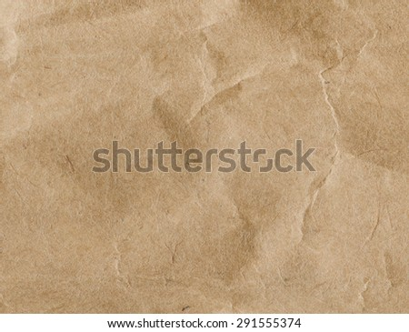 Vintage crumpled paper light texture.  - stock photo