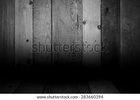 vintage dark wooden background