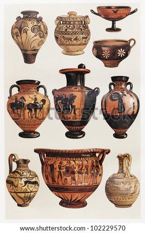 Greek Vase Stock Images Royalty Free Images Vectors