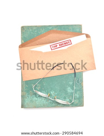 Stock Images similar to ID 82911580 - the phrase top secret written...