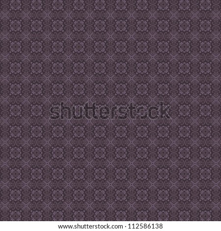 Vintage Fabric Tapestry Damask Pattern Background Texture - stock photo