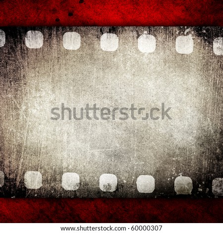vintage film background - stock photo