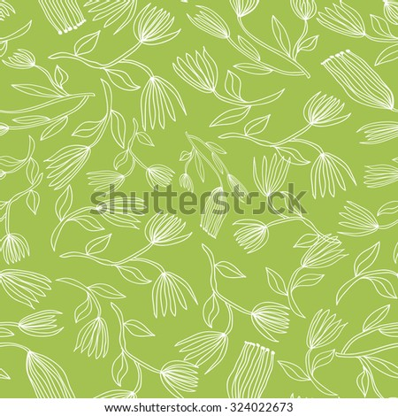 Vintage floral pattern. texture with flowers. Endless floral pattern.