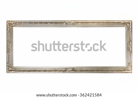 Vintage frame with blank space - stock photo