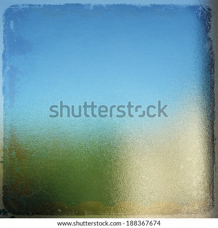 Vintage glass texture background