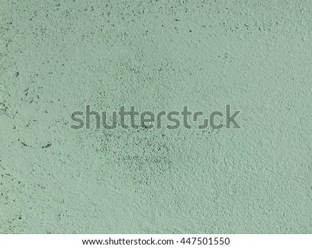 Vintage green concrete wall texture background - stock photo
