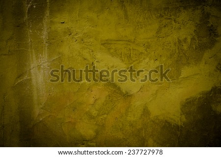 vintage grunge background texture with patina-like colors, cracks, and golden brown - stock photo