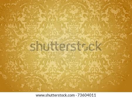 Vintage Grunge Brown pattern, bitmap copy - stock photo