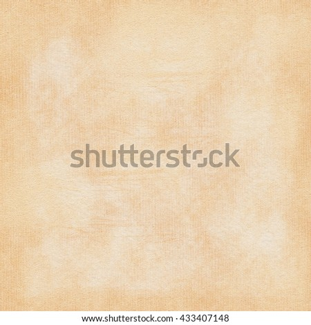 Vintage Grunge Paper Background | Old style grained textured blank sheet in beige color for design and scrapbooking - stock photo