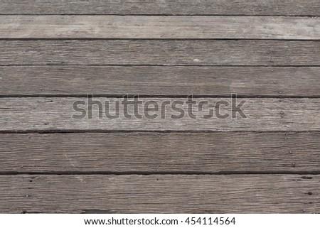 vintage grunge timber planks wood floor background - stock photo