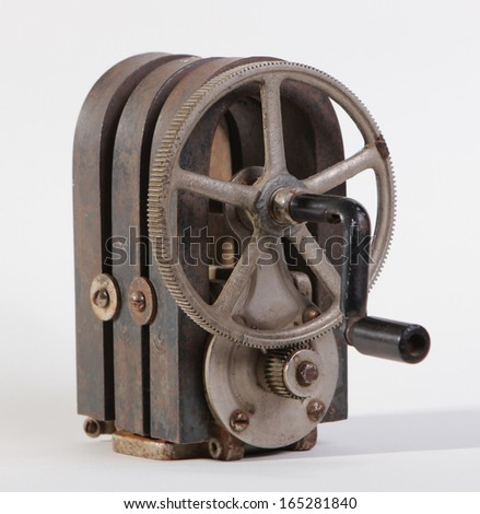 Hand Crank Stock Images Royalty Free Images Amp Vectors
