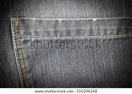 Vintage  Jeans texture background.