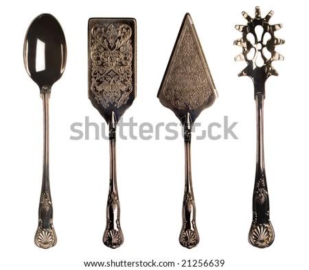 Vintage Kitchen Utensils Illustration vintage kitchen utensils stock photo 21256639 - shutterstock