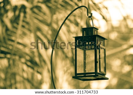 Vintage Lamp Warm Feeling