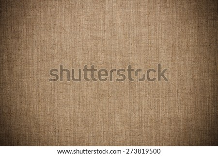 Vintage linen canvas texture or background - stock photo