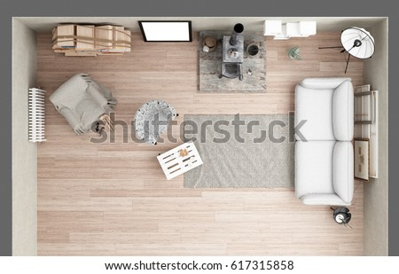 Modern Furniture Top View views stock images, royalty-free images & vectors | shutterstock