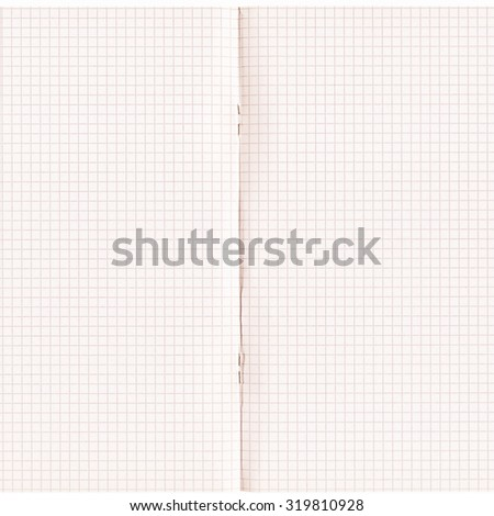 Vintage looking Blank notebook page background