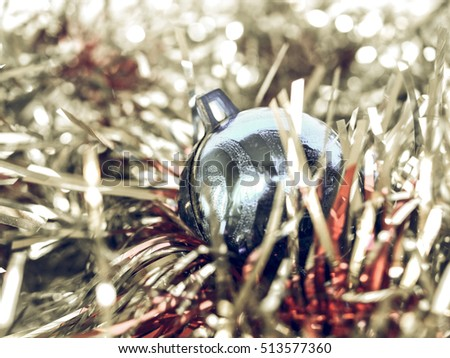 Vintage Retro Looking Cat Shaped Bauble Stock Photo 184669244 ...