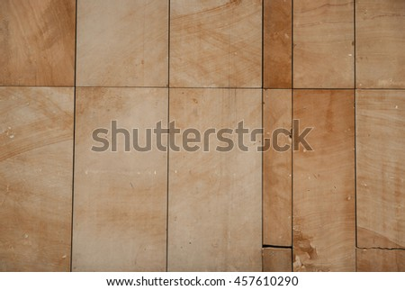 Vintage marble limestone sandstone tile texture. Classic european architecture details background. Vintage effect.