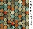 vintage marble seamless pattern (raster version) - stock photo
