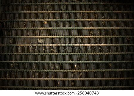 vintage metal background - stock photo