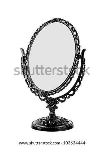 Vintage Mirror - stock photo