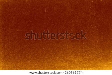 Vintage natural paper texture background - dark orange - stock photo
