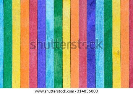 vintage of colorful wood plank background